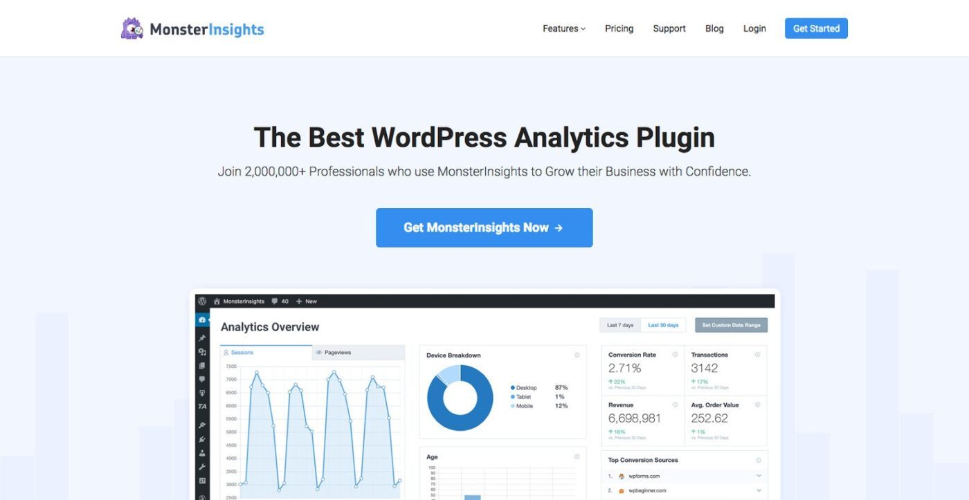 MonsterInsights The Best Google Analytics Plugin for WordPress - What Is GDPR and CCPA And How To Make Your Website Compliant?